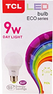 TCL Led Day Light 9w - 1's