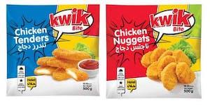 Kwik Bite Chicken Nuggets 500 g + Chicken Tenders 500 g @ 20 % Offer