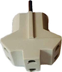 3 Way Multi Plug - 1's