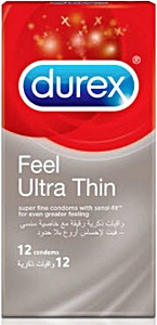 Durex Condoms Feel Ultra Thin 12's