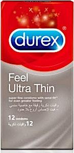 Durex Condoms Feel Ultra Thin 12's