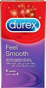 Durex Condoms Feel Smooth 6's