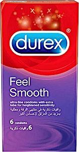 Durex Condoms Feel Smooth 6's