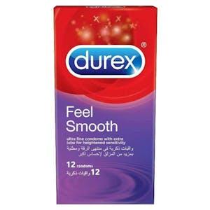 Durex Condoms Feel Smooth 12's