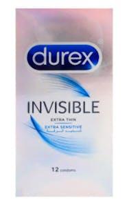Durex Condoms Invisible Extra Sensitive 12's