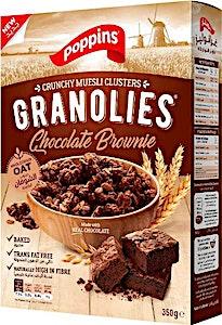 Poppins Granolies Chocolate Brownie 350 g