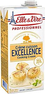 Elle & Vire Excellence Cooking Cream 1 L