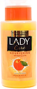 Lady Care Nail Polish Remover Peach Milk 210 ml