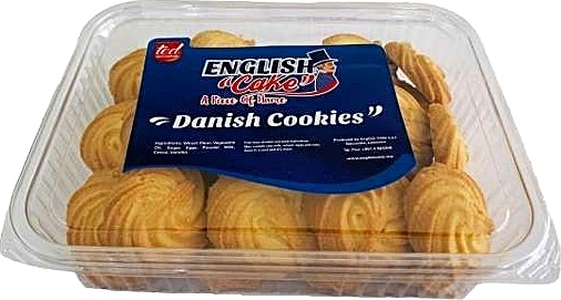 English Cake Danish Cookies 300 g