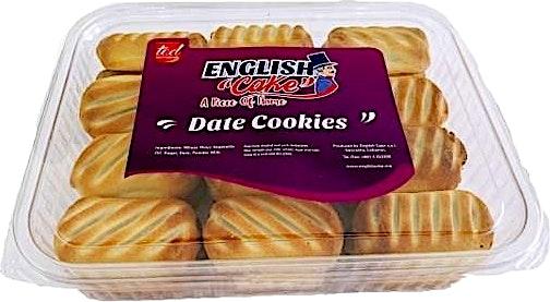 English Cake Date Cookies 500 g