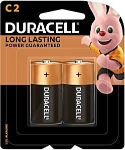 Duracell Battery C2 - 2's