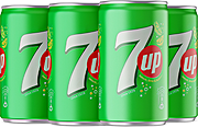 7up Can 185 ml - Pack Of 6