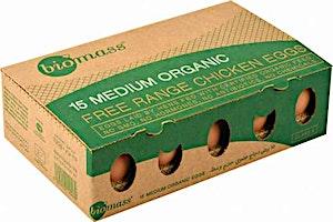Bio Mass Organic Eggs - 15's