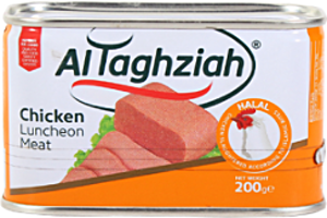 Al Taghziah Luncheon Chicken 200 g