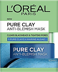 L'Oreal Pure Clay Mask With marine Algae 50 ml