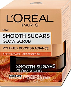 L'Oreal Smooth Sugars Glow Scrub 50 ml
