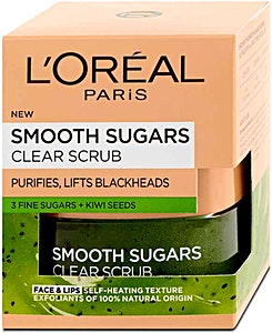 L'Oreal Smooth Sugars Clearing Scrub 50 ml