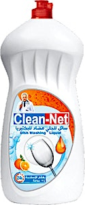 Clean-Net Dishwahing Liquid Orange 2200 ml