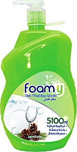 Foamy Dish Washing Liquid 5.1 L