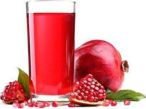 Pomegranate Juice Bottle