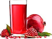 Pomegranate Juice Bottle