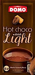 Domo Hot Choco Drink Light Mocha Caramel 10 g