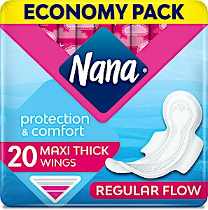 Nana Maxi Normal Wings Economy Pack 20's