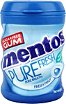 Mentos Pure Fresh Mint Chewing Gum 10's
