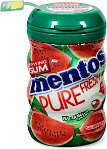 Mentos Pure Fresh Watermelon Chewing Gum 10's