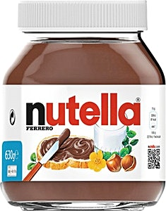 Nutella Chocolate Spread Jar 630 g