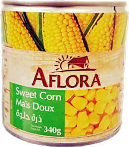 Aflora Sweet Corn 340 g