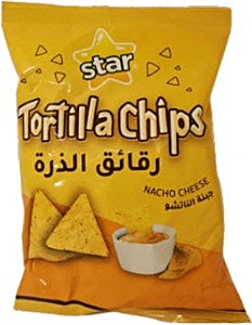 Star Tortilla Chips Nacho Cheese 90 g