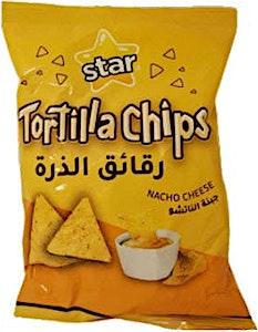 Star Tortilla Chips Nacho Cheese 80 g