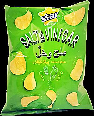 Star Potato Chips Salt & Vinegar 16 g