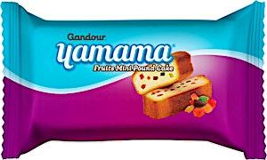 Gandour Yamama Fruits Mini Pound Cake 40 g