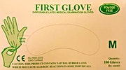 First Gloves Powder Free Medium  - 100 Pcs
