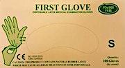First Gloves Powder Free Small  - 100 Pcs