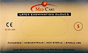 MedCare Latex Gloves Powdered Small - 100 Pcs