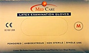 MedCare Latex Gloves Powdered Medium - 100 Pcs