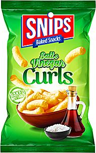 Snips Curls Salt & Vinegar 120 g