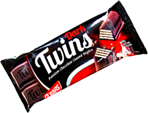 Twins Wafers cocoa with Dark Chocolate 40 g
