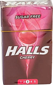 Halls Cherry Sugar Free 28 g