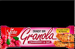Sante Granola Cranberry & Oat Crunchy Bar 40 g