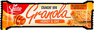 Sante Granola Honey & Oat Crunchy Bar 40 g