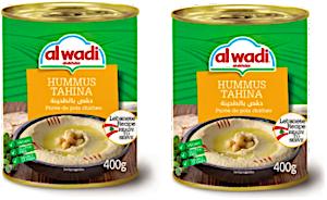 Alwadi Alakhdar Hummus Tahini 2 x 400 g 15% Off