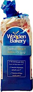 Wooden Bakery Toast Bran 130 g