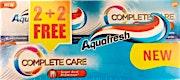 Aquafresh Toothpaste Complete Care 2+2 100 ml