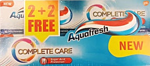 Aquafresh Toothpaste Complete Care 2+2 100 ml