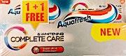 Aquafresh Toothpaste Complete Care Whitening 1+1 100 ml