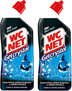 WC Net Gelcrystal Blue Fresh 2x750 ml @35% OFF